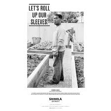 shinola launches new advertising campaign