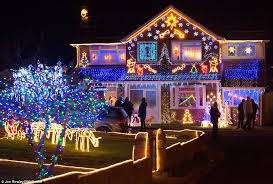 Christmas Home Decor Uk Most Decorated Homes Christmas Home Decor