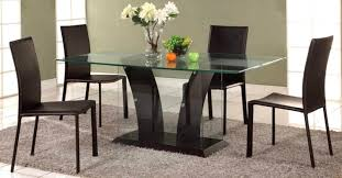 rectangular glass top dining room tables fascinating set glass top extendable table combined glass top dining