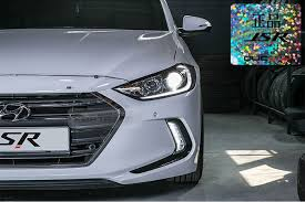 hyundai elantra daytime running lights drl daytime 2way led fog light l cover lh rh assy for hyundai