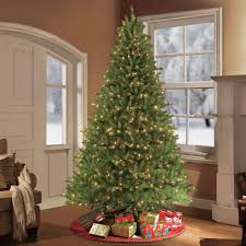 puleo 10 ft pre lit fraser fir artificial tree with 1300
