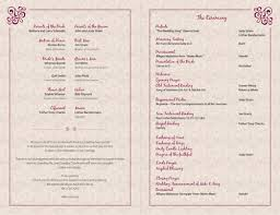 Wedding Bulletin How To Design Wedding Program Template Wedding Program Template