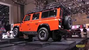 land rover defender 2015 special edition land rover defender final edition ginevra 2015 youtube