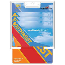 gift card packs southwest airlines 150 multi pack 3 50 gift cards sam s club