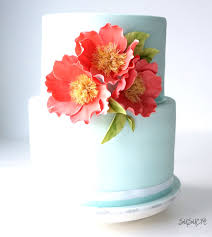 coral wedding cakes mint and coral wedding cake susucre