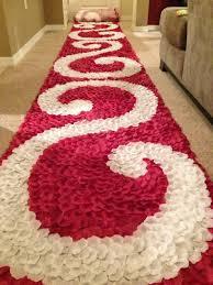 petal aisle runner burgundy aisle runner petal swirl aisle runner