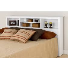 King Headboard With Storage Prepac Monterey White King Storage Headboard