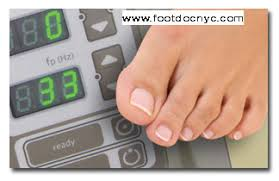 nyc podiatry center of excellence laser fungal toenail treatment