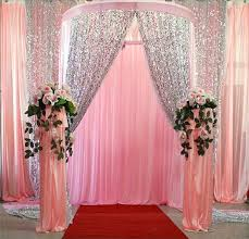 wedding backdrop fabric shiny 9mm sequins fabric for wedding table cloth decoration