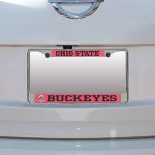 ohio alumni license plate frame ohio state buckeyes license plate frames ohio state license plate