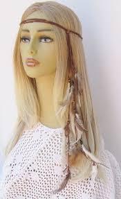 boho headband shook me all hippie headband boho feathers