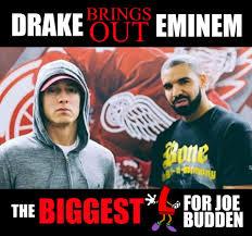 Eminem Drake Meme - drake brings eminem is it beef w joe budden eminem youtube