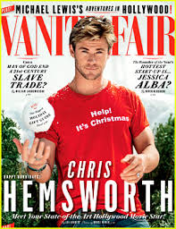 Magazine Vanity Fair Chris Hemsworth Cuddles With Kittens For U0027vanity Fair U0027 Video