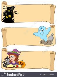 halloween banner clipart halloween halloween banner collection 3 stock illustration