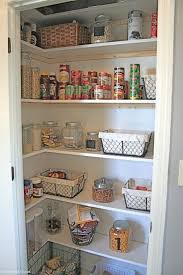 Kitchen Storage Pantry Cabinets Best 25 Small Pantry Closet Ideas On Pinterest Small Pantry