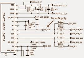 sharp lc24le510 led tv power supply smps u0026 led converter circuit