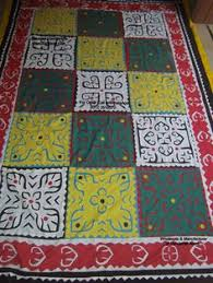 aman jee sindhi hand made aplic ralli bed sheet superb quality