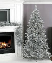 Silver Christmas Tree Baubles - silver christmas tree decorations christmas decor ideas