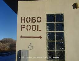 Wyoming top travel blogs images Road trip oddities the hobo pool in saratoga wyoming top ten jpg