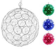 amazon com hoonttm outdoor hanging decorative sparkling crystals