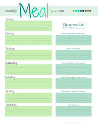weekly menu templates free best 25 meal planning templates ideas on menu