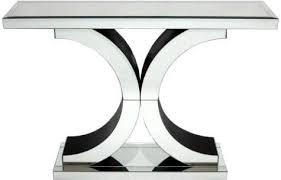 X Console Table Venetian Mirrored U0027x U0027 Console Table Console Tables