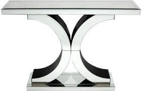 Venetian Console Table Venetian Mirrored X Console Table Console Tables