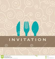 dinner invitation dinner invitation royalty free stock photography image 4356277