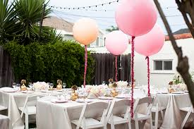 modern baby shower themes a girly glittery backyard baby shower baby showers 100 layer