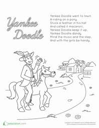 18 Best July 4th Images On Pinterest July Crafts July 4th And Yankee Doodle Coloring Page 2