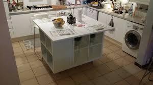 cuisine ikea avec ilot central un ilot de cuisine moderne pas cher