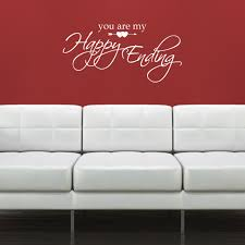 valentine days cool home wall decals for valentine decors red full size of white vinyl removable valentine wall decals you are my happy ending quote wall