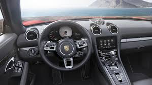 porsche concept interior the new porsche 718 boxster