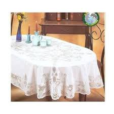 Oblong Table Cloth Vinyl Lace Tablecloth Oval Poolee