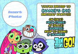 digital download teen titans go birthday party