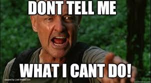 John Locke Meme - don t tell me anything about the dark knight rises defensive locke