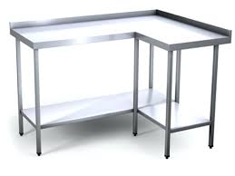 home depot stainless steel table stainless work table home depot steel with backsplash workbench