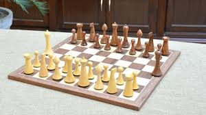 of minimalist hermann ohme chess pieces in sheesham u0026 box wood