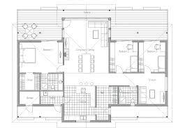 open one house plans one floor modern house plans novic me