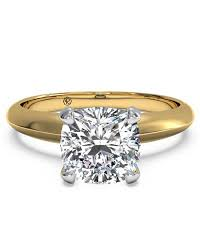 gold cushion cut engagement rings cushion cut engagement rings