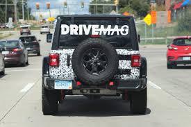 2018 jeep wrangler interior fully revealed 2018 jeep wrangler rubicon spied sporting minimal camo