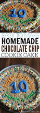best 25 chocolate chip cookie cake ideas on pinterest chocolate