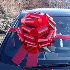 mega car bow 16 inch 6 metres of ribbon for cars bikes