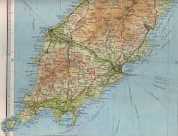 Map Of Southern England by South Isle Of Man Map