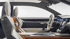 futuristic cars interior concept estate volvo cars