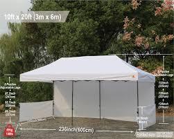 10x20 abccanopy pop up canopy commercial shelter backyard gazebo