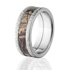 camouflage wedding rings realtree ap camo bands tree bark camouflage wedding ring camo