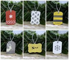 diy wooden tag ornaments east coast creative