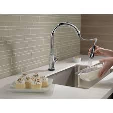 Moen Haysfield Kitchen Faucet High Arc Kitchen Faucet Reviews Allfind Us