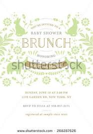 baby shower brunch invitations baby shower invitation stock images royalty free images vectors